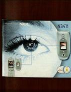 X NEC N341i Manuale Dell'utente - Telefonia