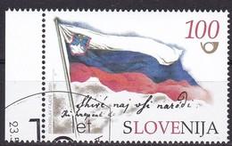 2001, Slowenien, Slovenia, Mi. 355, Used First Day Oo, 10 Jahre Unabhängigkeit. - Slovénie