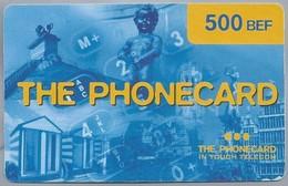BE.- Telefoonkaart. THE PHONECARD In Touch Telecom. - 500BEF -. Manneke Pis. Brussel. 2 Scans - GSM-Kaarten, Herlaadbaar & Voorafbetaald