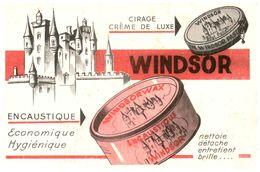 (Tapp  1)  Buvard Cirage Windsor   (Format 18 X 12) - Blotters