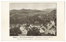 SANTA CATARINA - BLUMENAU -  État De Santa Catharina -Blumeneau ( Anciene Colonie) Carte Postale - Florianópolis