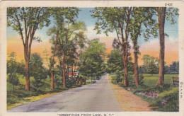New York Greetings From Lodi 1945 Curteich