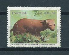 1988 Brazil Animals,dieren,tiere Used/gebruikt/oblitere - Brazilië