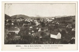 SANTA CATARINA - JOINVILLE - État De Santa Catharina - Joinville ( Anciene Colonie)  Carte Postale - Florianópolis