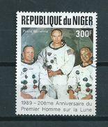1989 Niger Moonlanding 300F Used/gebruikt/oblitere - Niger (1960-...)