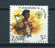 1982 Zaire 3z. Scouting Used/gebruikt/oblitere - Zaïre