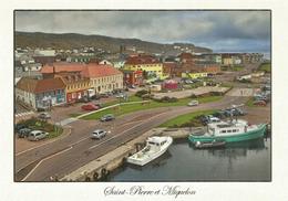 Le Quai De Saint Pierre, Carte Postale St Pierre Et Miquelon écrite Au Verso - Saint-Pierre-et-Miquelon
