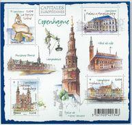 France Bloc  N° F4637  Année 2012  Capitales Européennes Copenhague Neuf - Blocs & Feuillets