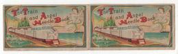 """Chromo """"The Train And Angel Needle Book"""" Avec Une Petite Trousse De Couture à L'intérieur - Unclassified"""