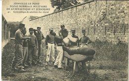 94 JOINVILLE Le Pont  Ecole Normale Militaire De Gymnastique Et D'escrime Le Cheval CPA écrite En 1919 - Joinville Le Pont