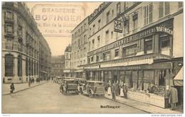 PARIS -Brasserie Bofinger +cachet  De L'établissement. - Distretto: 18