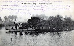 Chasse - Chasse Aux Canards - Chasse à La Hutte - Appelant De Chasse - Hutte - Marais - Brunemont Plage - Caccia