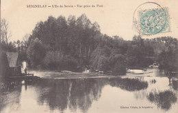89 . Yonne  .  Seignelay . L ' Ile Du Serein . - Seignelay