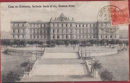 Argentina Argentine Casa De Gobierno Fachada Hacia El Rio 1912 Buenos Aires Argentinie - Argentine