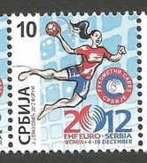 SRB 2012-ZZ65 HANDBALL, SRBIJA SERBIA, 1 X 1v MNH - Hand-Ball