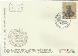 CG 2017-12 1000A°MONTENEGRO, CRNA GORA MONTENEGRO, FDC - Montenegro
