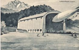 Aviation - Dirigeable Ville De Lucerne - Dirigibili