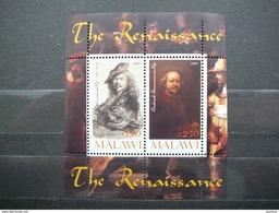 C(1065) 2009 # Painter Rembrandt # MNH S/s # Art Painting Famous People Renaissance - Art
