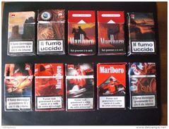 BOX SIGARETTE 11 PEZZI MARLBORO ANNIVERSARIO VUOTI DA COLLEZIONE EDIZIONE LIMITATA RARI !! - Cigarette Holders