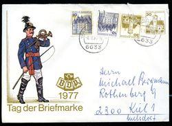 Bund PU108 C1/001 Privat-Umschlag PREUSSISCHER POSTILLION  1977 Gebraucht NGK 8,00 € - Post