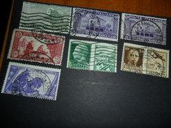 REGNO Italia VARIETA'   7 VALORI DENTELLATURA SPOSTATA - 1900-44 Vittorio Emanuele III