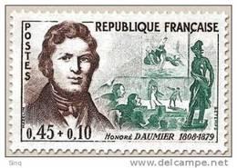 N° 1299 Honoré Daumier Faciale 0,45+0,10 F - Neufs