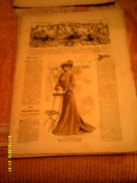 Journal De Famille La Mode Illustrée No 26 ( Avec Planche De Patrons ) De  43em Année  29 Juin 1902  6 Pages - Moda