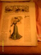 Journal De Famille La Mode Illustrée No 28 ( Avec Planche De Patrons ) De  43em Année  13 Juillet 1902  6 Pages - Moda