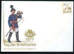 Bund PU108 C1/002a Privat-Umschlag PREUSSISCHER POSTILLION ** 1977 NGK 8,00 € - Post