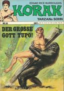 Korak Tarzans Sohn N° 56 - En Allemand - 1972 - Bildschriftenverlag, Alsdorf - TBE - - Livres, BD, Revues