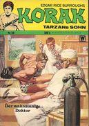 Korak Tarzans Sohn N° 58 - En Allemand - 1973 - Williams Verlag, Alsdorf - TBE - - Livres, BD, Revues
