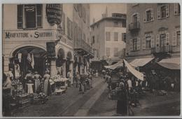 Lugano - Rue A Lugano - Manifatture & Sartoria - Mercato - Photoglob - TI Tessin