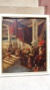Tableau 1850 Celebre Peintre Orientaliste Carl Fredrich Werner - Oriental Art