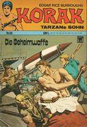 Korak Tarzans Sohn N° 59 - En Allemand - 1973 - Williams Verlag, Alsdorf - TBE - Livres, BD, Revues