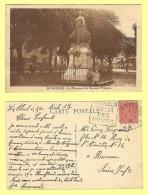 CPA, HONFLEUR, LE MONUMENT DU SOUVENIR FRANCAIS - Honfleur