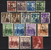 EGITTO - 1953 - SERIE INIZIO DELLA REPUBBLICA - USATI - Usados