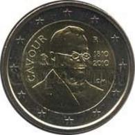 *ITALIA - 2 Euro Commemorativo 2010: CAVOUR - Italia