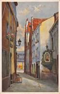 BRUXELLES - Rue Du Chien-Marin, Dans Le Fond : Marché-aux-Poissons. - Lanen, Boulevards