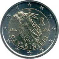 *ITALIA - 2 Euro Commemorativo 2014: 200° ARMA DEI CARABINIERI - Italia