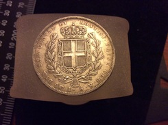 5 Lire 1837 Argent - Temporary Coins
