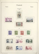 C 017  -  France  :  Collection Complète De 1960 à1982  (o)  Avec Avion-blocs-préos-services-taxes-FM,  12 Pages à Voir - Collections