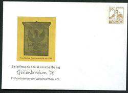 Bund PU108 C2/003 Privat-Umschlag POSTHAUSSCHILD PREUSSEN ** 1978 - Post