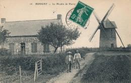G160 - 59 - BUSIGNY - Nord - Le Moulin De Pierre - Moulin à Vent - Otros Municipios