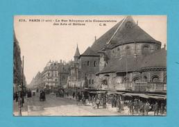 75 Paris 3eme Arrondissement La Rue Reaumur Et Le Conservatoire Des Arts Et Metiers - Arrondissement: 03