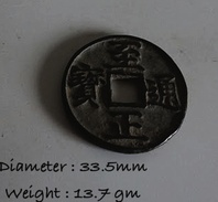 Ancient China Dynasty Coin Mongol Script Reverse Unknown Unchecked - China