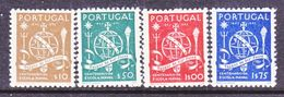 PORTUGAL  658-61   *    NAVAL  SCHOOL - 1910-... Republic