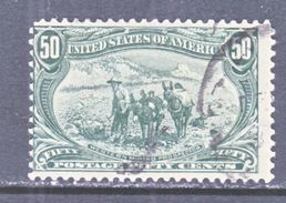 U.S. 291    (o)    GOLD  PROSPECTOR - 1847-99 General Issues