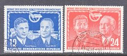 DDR  92-3  (o)   STALIN,   W. PIECK - [6] Democratic Republic