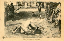 DAHOMEY(LUTTE) - Dahomey