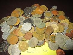 LOT 4 : PIÈCES ÉTRANGÈRE 500 Grammes A Trier Dans L'état A Nettoyer - Coins & Banknotes